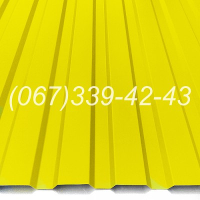 Профнастил матовый Черный RAL 9005 профлист, металлопрофиль | Купить, заказать, цена Винница