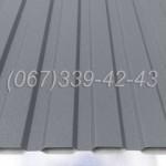 Профнастил матовый Серый RAL 7024 профлист, металлопрофиль | Купить, заказать, цена Винница