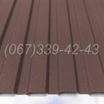 Профнастил матовый  Коричневый RAL 8017 профлист, металлопрофиль | Купить, заказать, цена Винница