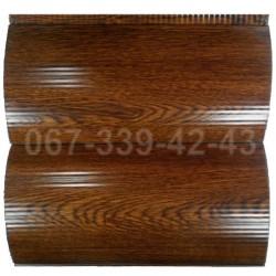 Металлический сайдинг 067-339-42-43 под бревно Львов | Cайдинг блок-хаус под дерево