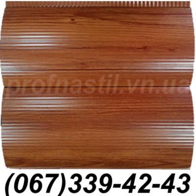 Сайдинг металлический 067-339-42-43 СРУБ под блокхаус сосна (шир. 35 см)